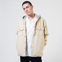 HOODED JACKSON OVERSHIRT FOG