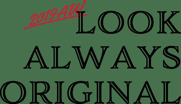 LEVI'S® 2019 AW LOOK Always Original
