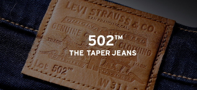 502™ THE TAPER JEANS