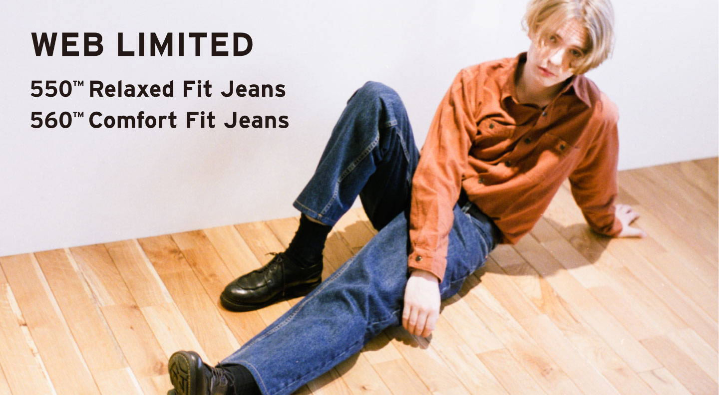 WEB LIMITED 550™ Relaxed Fit Jeans 560™ Comfort Fit Jeans